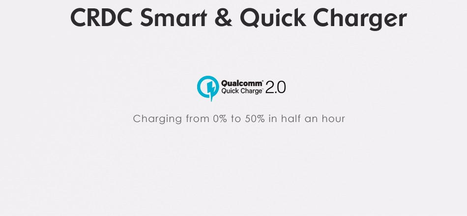 Gadget Freaks Zone: CRDC Aukey Made Qualcomm Quick Charge