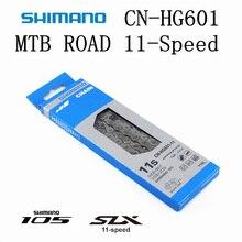 SHIMANO 105 SLX HG601 HG600 M7000 R7000 سلسلة 11 السرعة دراجة هوائية جبلية سلسلة دراجات CN HG601 MTB الطريق الدراجة 5800 M7000 سلاسل
