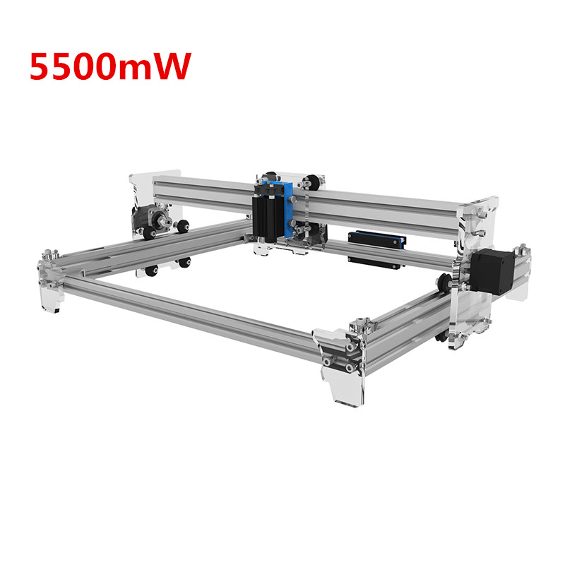 купить EleksMaker EleksLaser-A3 Pro 5500mW Laser Engraving Machine CNC Laser Printer 30x40cm Engraving Accuracy 0.01mm по цене 55304.41 рублей