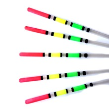 15PCS Fishing Floats Hollow Plastic Float Striking Length 14cm-16cm-18cmFlutuador For All Fishing