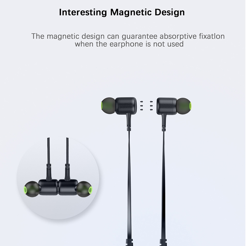 AWEI G30BL Neckband Bluetooth Headphone Magnetic Bluetooth Earphone Sport with mic Stereo Wireless Headset for phone Earbuds 2