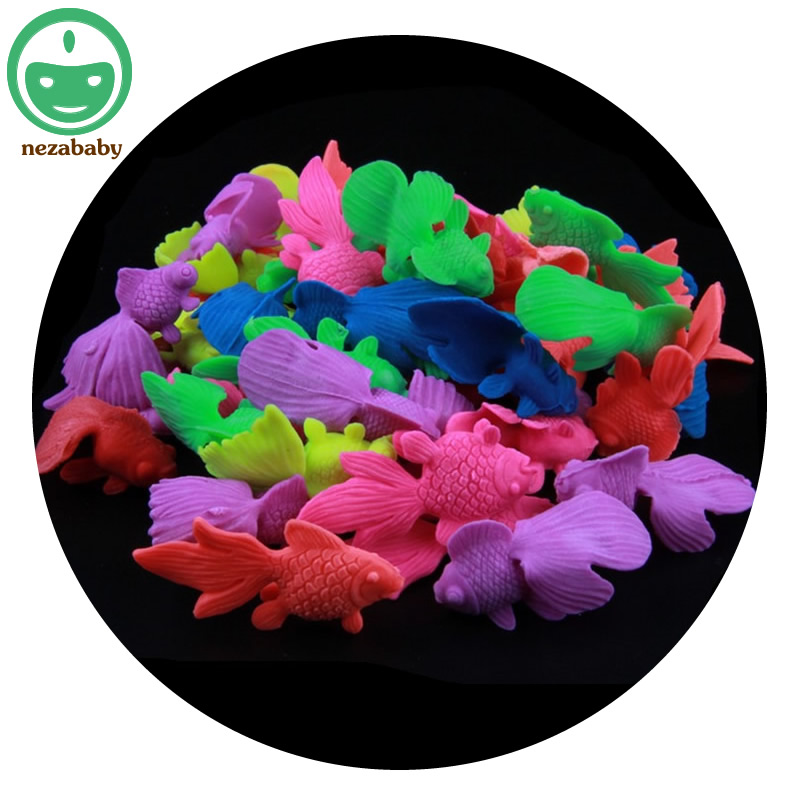 nezababy 10PCS Silicone Children Novelty Water Toys