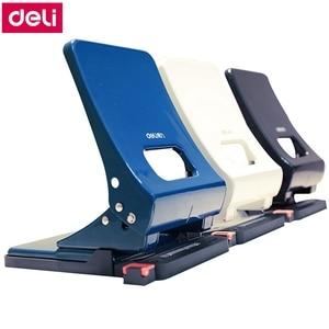 Deli 0143 офисный стол 2-дырокол 6 мм Дырокол емкость 45 страниц 80 г бумаги два отверстия документы Дырокол