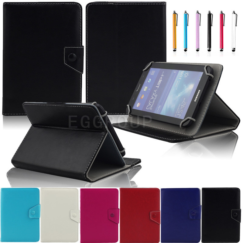 Eagwell 8 inch Universal Leather Case Samrt Stand Cover For iPad Mini 1 2 3 4 Tablets PC Flip Case Cover For Samsung Lenovo Dell leather case flip cover for letv leeco le 2 le 2 pro black