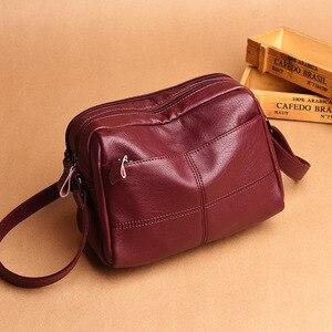 High Quality Sheepskin Leather Shoulder CrossBody Bag Women's Genuine Leather Handbags Women Messenger Bags Lady Bolsas Feminina
