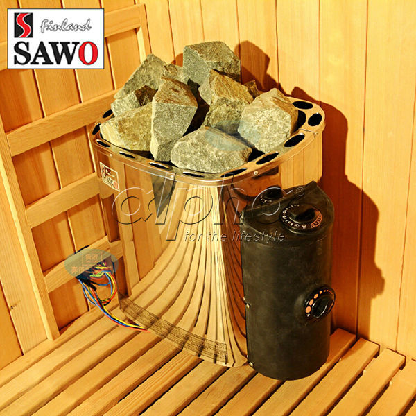 6KW Original Finland Sawo MINI Built  In/ Inner Control Sauna Heater SCA-60NB With CE Certification,IMPORTED