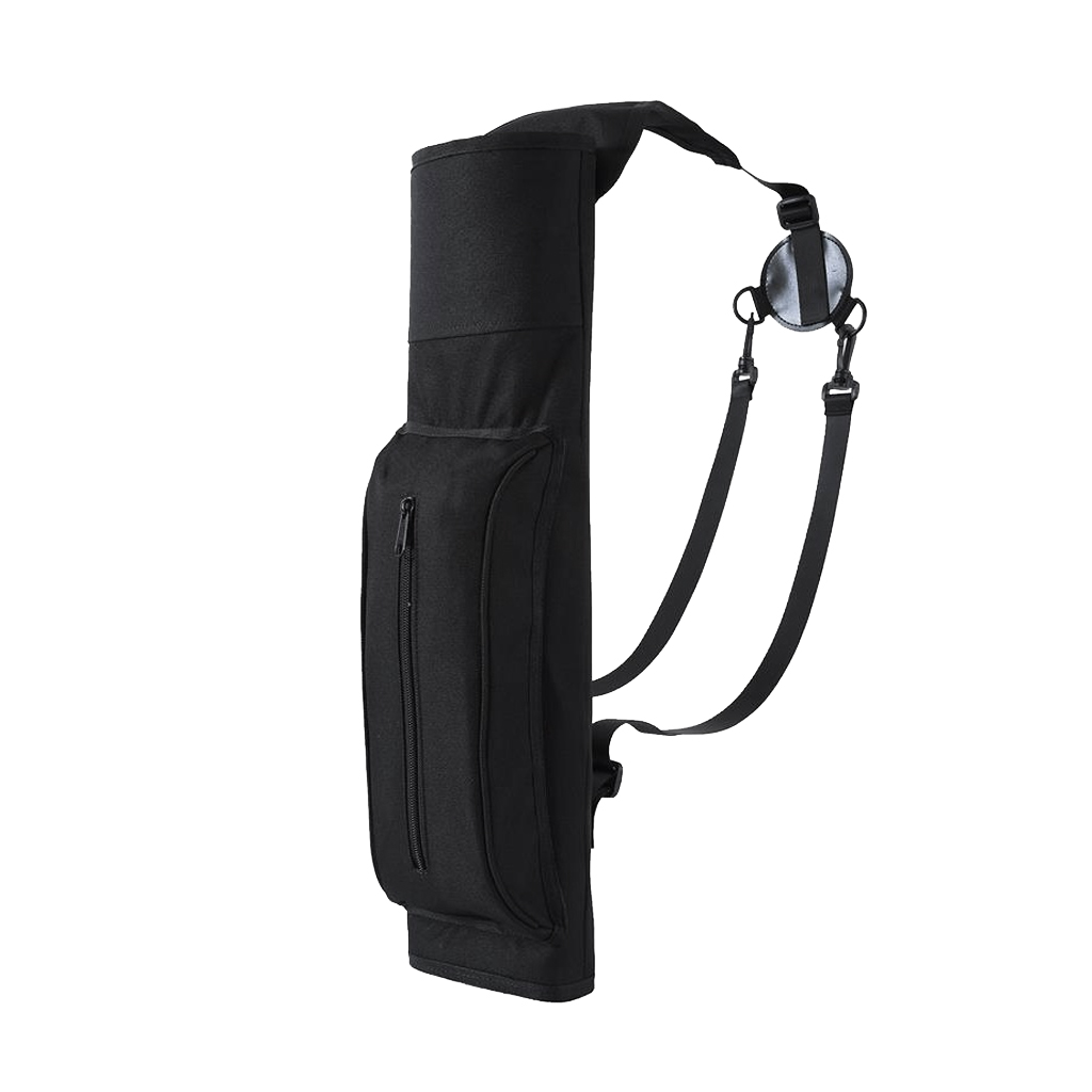 Large Capacity Back Archery Quiver Compound Bow Recurve Arrow Holder Belt Bag for Outdoor Bow Hunting Shooting Accessories