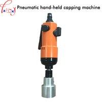 Halbautomatische hand pneumatische capping maschine flasche schraube kappe maschine pneumatische kappe abdichtung maschine