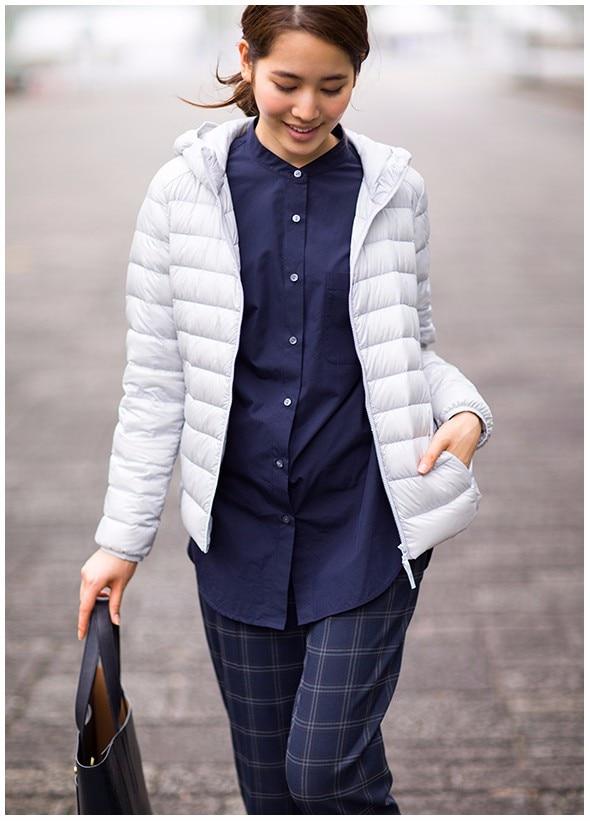 Image 2 - NewBang 8XL 9XL Plus Size Ultra Light Down Jacket Women Autumn  Winter Warm Coat White Duck Jackets Female Hooded ParkaDown Coats   -