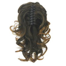 Soowee Synthetic Hair Burgundy Claw Ponytails Clip In Hair Extensions Little Pony Fairy Tail Hair on Hairpins Tails of Hair