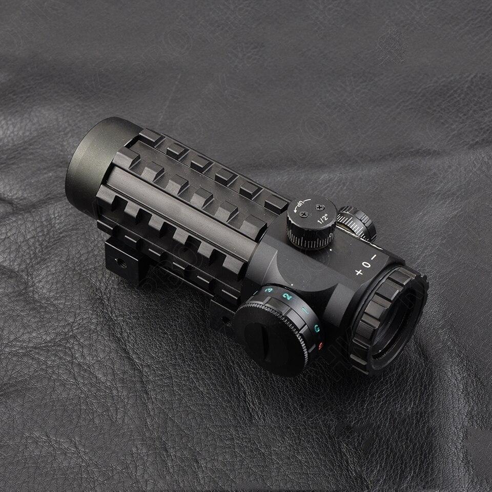 Тактический 4x28EG оптический прицел охотничий Сетка прицел 20 мм/11 мм рельс для страйкбола тактическая стрельба