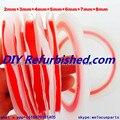 100% Original 7 pieza de color rojo 3 M Doble Cara Cinta Adhesiva para la Pantalla Táctil/Pantalla/Vivienda/Case/Cable Pegajosa