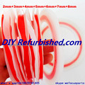 100% Original 7piece red 3M Double Sided Adhesive Tape for Touch Screen /Display /Housing /Case /Cable Sticky