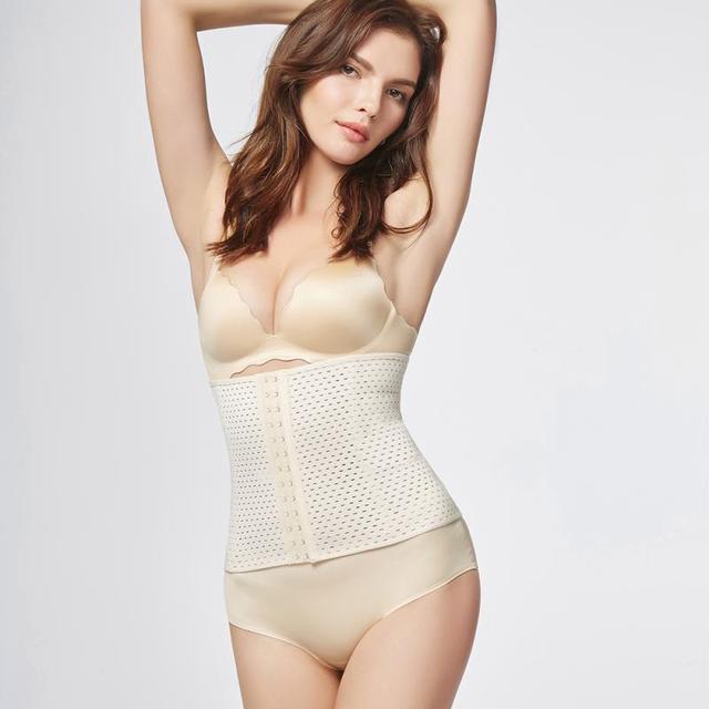 8d6559936107d Girl Women Hot Body Shaper Slim Waist Tummy Girdle Belt Waist Under bust  Corset Firm Waist Trainer Slimming Belly