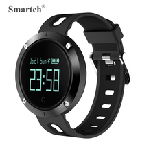 Smartch DM58 Bluetooth Smart Watch,Blood Pressure/Heart Rate Pulse Monitor,OLED Touch Screen,IP67 Grade Waterproof,Silica Strap