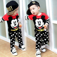 Mickey Kids Children's Clothing Boys Clothes Minnie Girls Lo