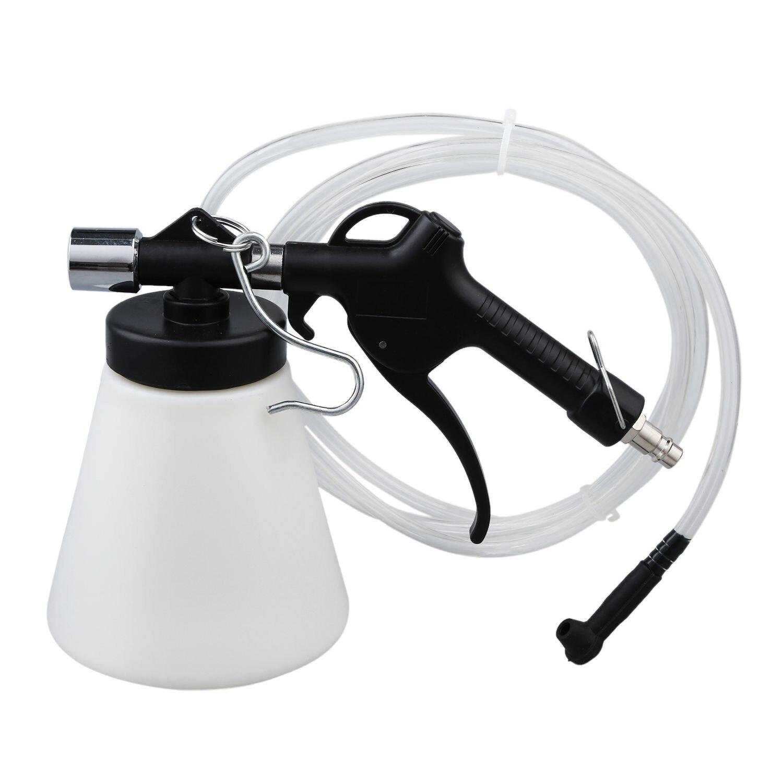 Car Brake Clutch Bleeder Bleeding Fluid Kit Air Powered Pneumatic Vacuum Tool 1L