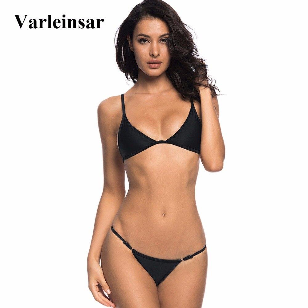 4 colors Brazilian Bikini 2019 Female Swimsuit Women ...