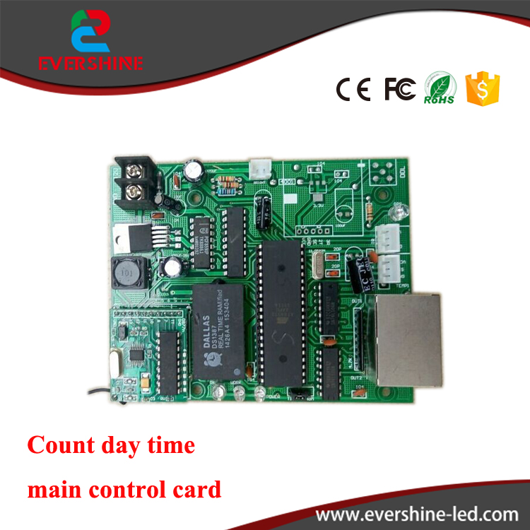 все цены на Main Control Card 12V Count Day Time LED sign Control Board Use For All Size Led Digital Number Module онлайн