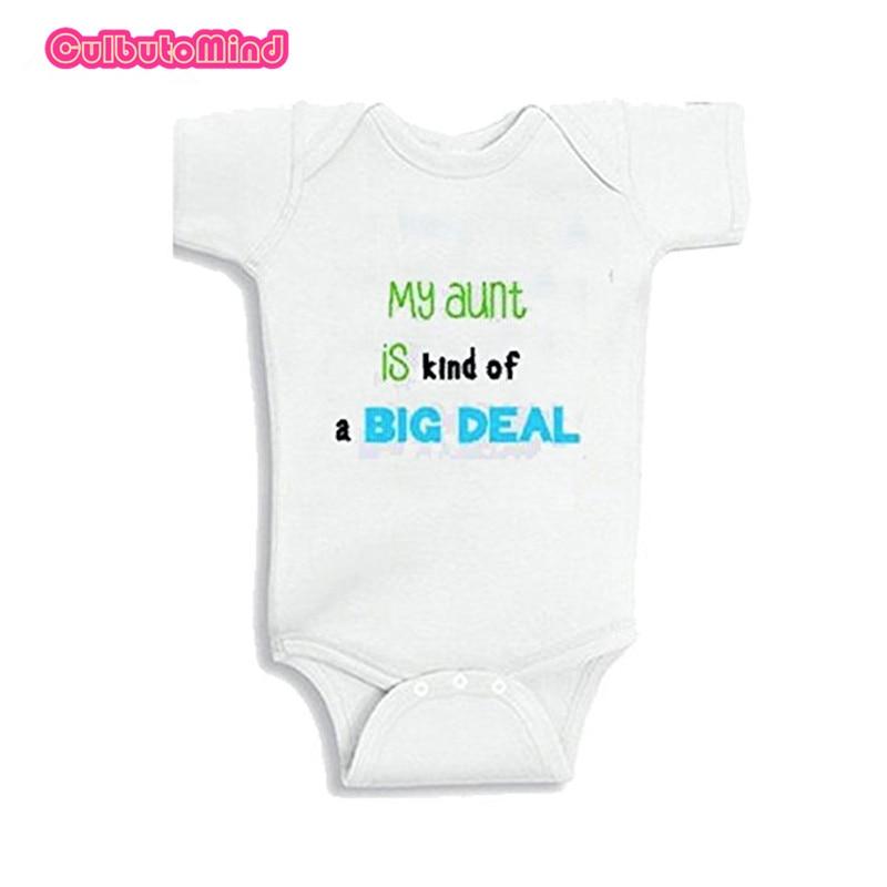 Gilet bébé personnalisé Mon oncle est une sorte de big deal body cadeau