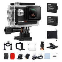 ThiEYE I60e 4K Sports Action Camera WIFI 1080P Full HD Waterproof 40M Mini Video Helmet Camcorder
