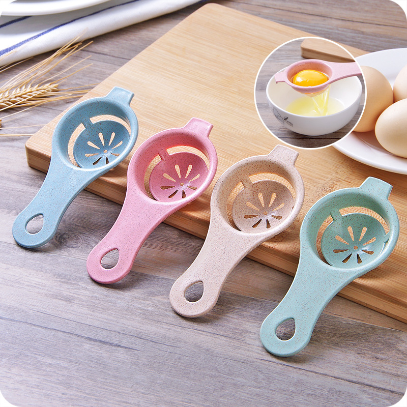 4 Ps/lot Eggs Tool Egg Yolk Separator Food-grade Egg Dividers Protein Separation Eggs Gadgets Kitchen Accessories Dropshipping