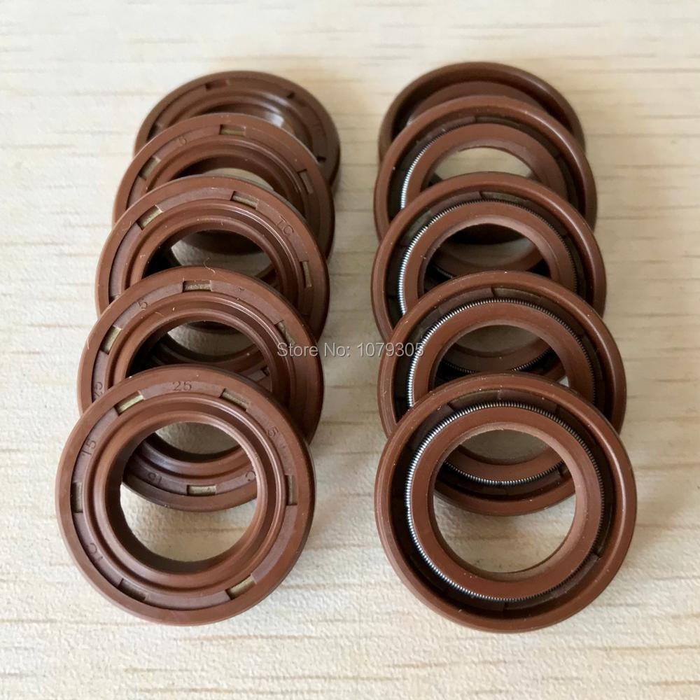 10Pcs/lot Chainsaw Oil Seal For STIHL MS180 MS170 170 180 Chainsaw Parts