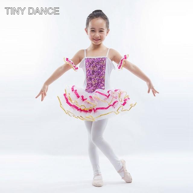 173e50216819 Kids Sequin Ballet Dance Tutu Dress