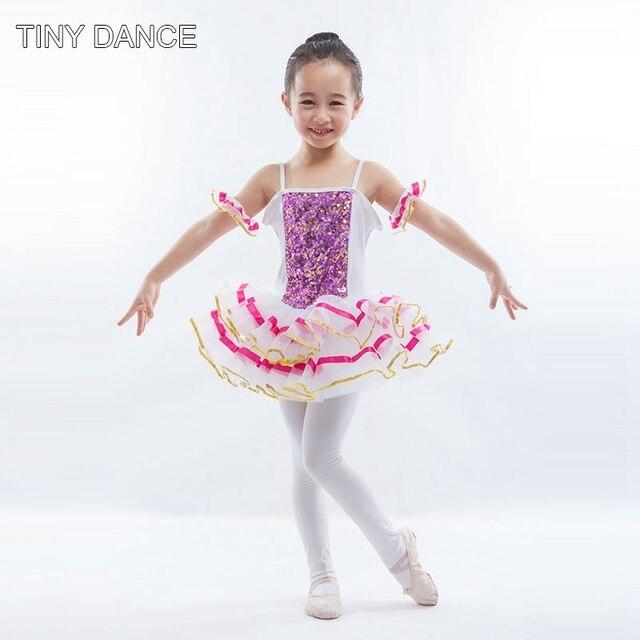 14c729ab8 Kids Sequin Ballet Dance Tutu Dress