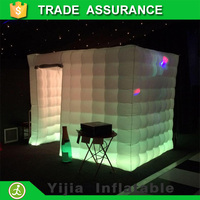 white color inflatable tent photo booth digital photo booth for sale