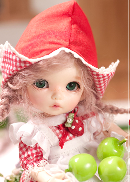 1 8 BJD Doll Fashion LOVELY model Resin Joint Doll For Baby Girl Birthday Gift random