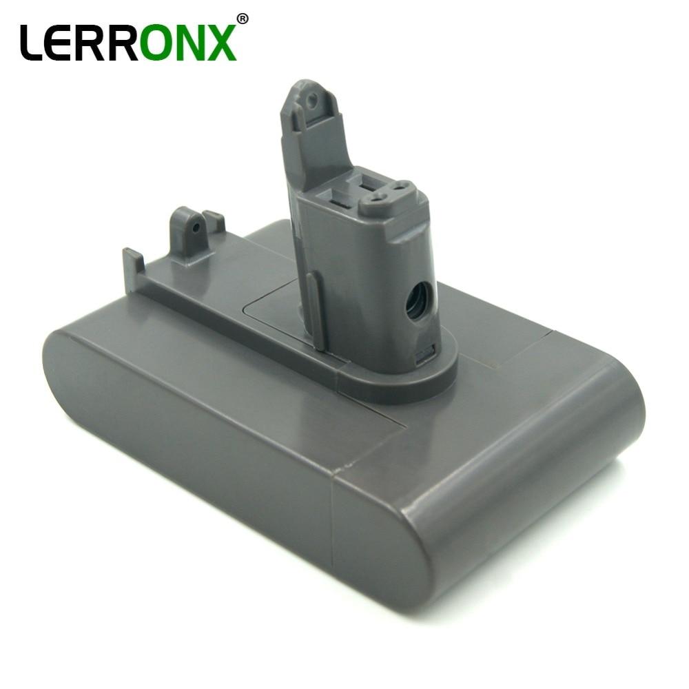 LERRONX 22.2V 3000mAh Li ion aspirateur rechargeable batterie de remplacement pour Dyson Type B DC31 DC34 DC35 DC44 Animal DC45