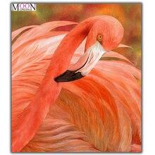 Mooncresin алмазная живопись вышивка крестиком большой фламинго