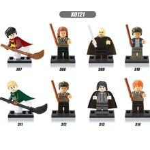 8Pcs/set Harry Potter Hermione Lord Voldemort Malfoy Building Blocks Bricks Set Toys Bricks Gift Compatible Legoed for Children(China (Mainland))