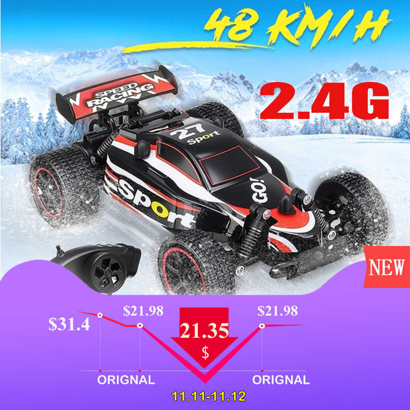 RC Car 2.4G 4CH Rock Crawlers Driving Car Drive Bigfoot Car Remote Control Car Model OffRoad Vehicle Toy wltoys traxxas rc drift wltoys l929 upgraded 2019 2 4g 4ch rc car