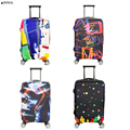 Travel Suitcase Cover Case Luggage Protector Covers Protective Cover For 18 20 22 24 26 28 30 32 inch Suitcase ( Only Protector)