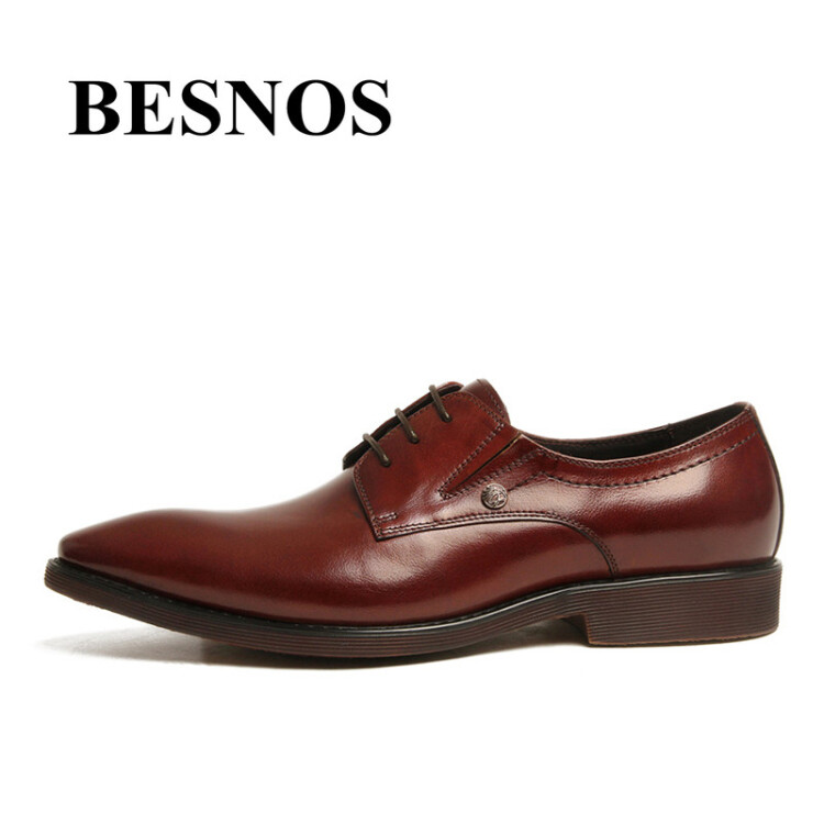 MYCOLEN Casual Men Flats Autumn Lace-Up Dress Shoes Business Leather Male Brogue Shoes Oxfords Men Wedding Rubber Shoes Men pjcmg spring autumn men s genuine leather pointed toe slip on flats dress oxfords business office wedding for men flats shoes