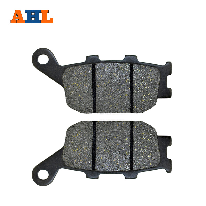 AHL Motorbike Discs Rear Brake Pads For HONDA CBR 600 F2/ F3/ F4/ RR CBR600 1991-2007 Motorcycle Brake Pad аксессуар катушка marsmd sniper для f2 f4