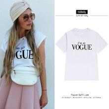 Hillbilly Phụ Nữ Thời Trang Mới TÔI Rất Vogue Thư T-Shirt Ngắn Tay Áo O-Cổ Cộng Với Kích Thước Bông T Sơ Mi Lỏng tees & Tops C2-5