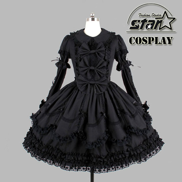 9bbfecca Halloween Costumes for Children Girlst Southern Belle Costume Black  Victorian Dress Ball Gown Gothic Dress Plus Size Costume