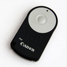 Mando con Control remoto inalámbrico por infrarrojos, RC 6, para Canon 5D Mark II III IV 60D 70D 80D 760D 750D 700D 650D 600D 550D 500D