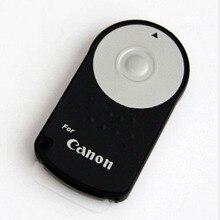 RC 6 אינפרא אדום אלחוטי שלט רחוק שחרור תריס עבור Canon 5D Mark II III IV 60D 70D 80D 760D 750D 700D 650D 600D 550D 500D