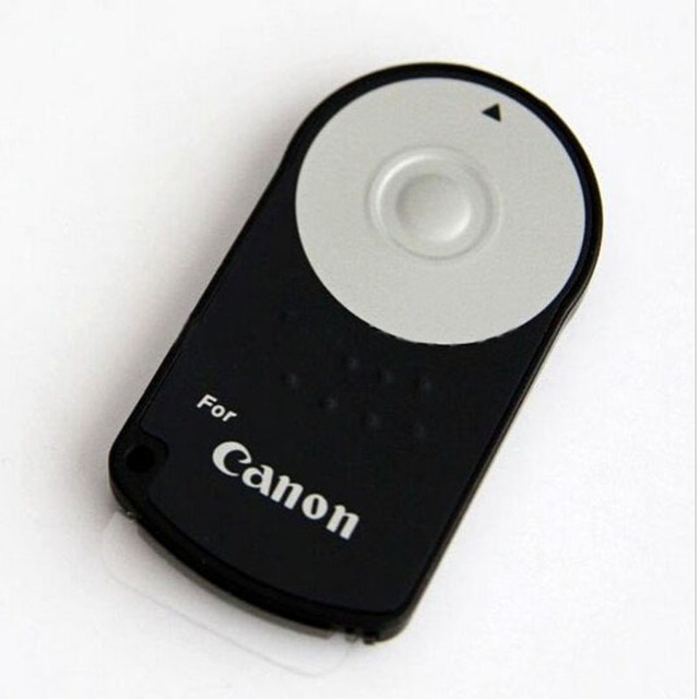 RC 6 Infrared Wireless Remote Control Shutter Release For Canon 5D Mark II III IV 60D 70D 80D 760D 750D 700D 650D 600D 550D 500D