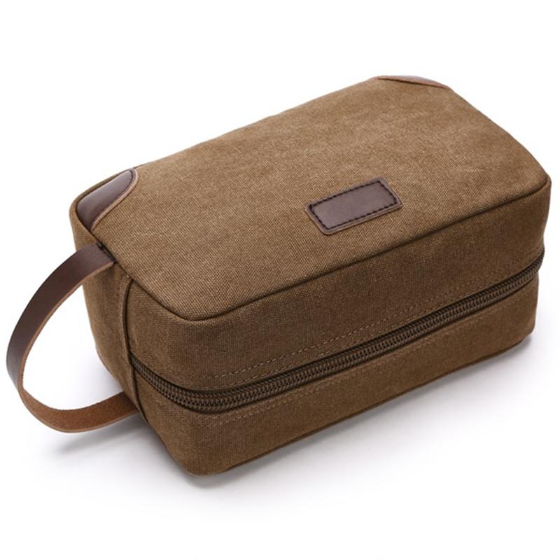 Lovely Canvas Travel Bag Toiletry Organizer Shaving Dopp Kit Travel  AK85