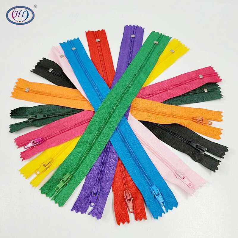 HL 20 штук 23,5 см длина Разноцветные закрытых нейлоновые молнии сумка для одежды tailor Аксессуары швейные инструменты A383