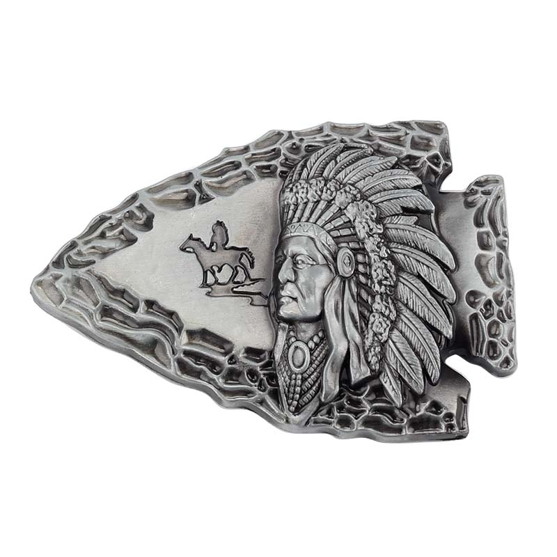 The Indians Belt Buckle