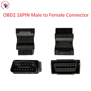 Image 1 - OBD2 Male to Female Adapter Converter Cables connector OBD 2 OBD2 OBDII cable Female Car Diagnostic Tool Adapter