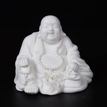 цены на Small figure of Buddha maitreya car furnishing articles High-end gift of figure of Buddha Maitreya ceramic arts and crafts в интернет-магазинах