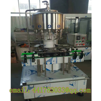 Automatic 12 Head Pressure Negative Pressure Filling Machine Liquid Liquor Red Wine Filling Machine Inflatable Filling