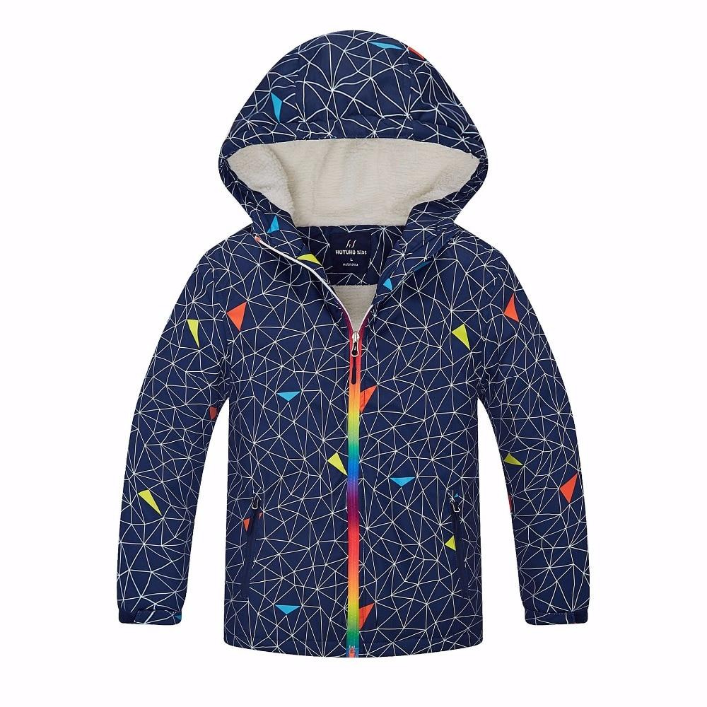 Imperméable à l'eau Index 5000mm hiver chaud bébé garçons vestes coupe-vent enfant manteau décontracté vêtements d'extérieur pour enfants vêtements pour 3-12 ans
